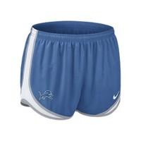 "Nike Store. Nike Tempo 3.5"" (NFL Lions) Women's Running Shorts"