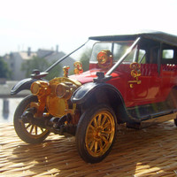 Russobalt C24 40 Soviet Vintage Car Model Made in USSR in 1970s.