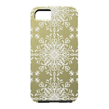 Lisa Argyropoulos Elegance White Whispers Cell Phone Case