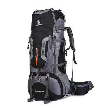 80L XL Hiking Backpacking Overnight Backpack Large
