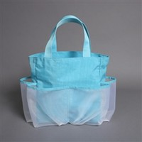 Crinkle Carry All - Ocean Blue College Dorm Shopping Cool Dorm Stuff College Girls Shopping Bags For College Shower