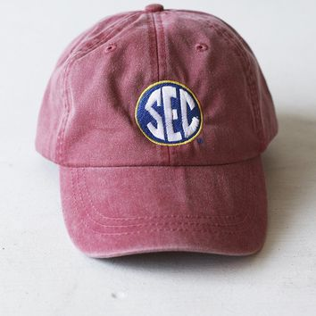 Charlie Southern Red SEC Hat