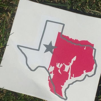 State decals, Texas, decals, laptop decal, window decal, car accessories, window stickers, state window decals, custom decals, vinyl decal