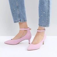 ASOS DESIGN Simi Kitten Heels at asos.com