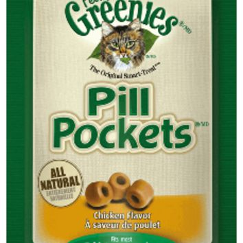 GREENIES™ Feline Pill Pockets™ Treats Salmon Flavor