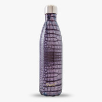 S'well® Official - S'well Bottle - Aubergine Alligator | S'well the best reusable water bottle