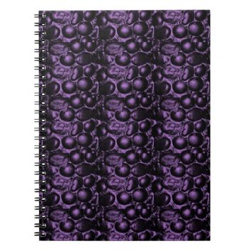 Purple Glam Pebbles Notebook
