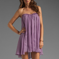 BLAQUE LABEL Strapless Mini Dress in Lavender from REVOLVEclothing.com