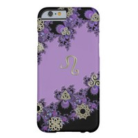 Zodiac Sign Leo Celtic Lavender iPhone 6 Case