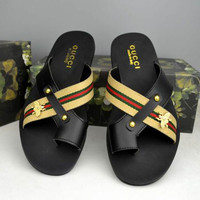 Trendsetter Gucci Casual Fashion Women Sandal Slipper Shoes