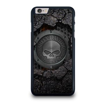 HARLEY DAVIDSON SKULL LOGO iPhone 6 / 6S Plus Case Cover