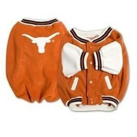 Chenier Texas Longhorns Varsity Dog Jacket