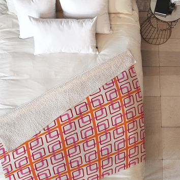 Caroline Okun Miami Knot Fleece Throw Blanket