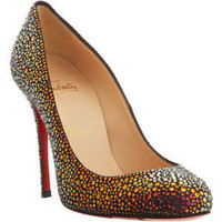 Christian Louboutin Fifi Strass - Polyvore