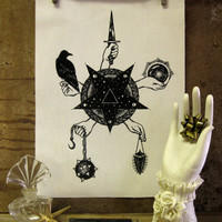 The Curiosities of Shadow handmade by PoisonApplePrintshop on Etsy