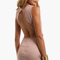 Cindy Open Back Dress $58