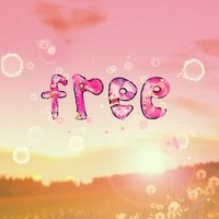 ***FREE SUMMER  ***Art Print by M✿nika  Strigel in different sizes for your beach house and your bedroom ***