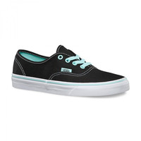 Vans K Authentic(Pop)Black/Blue Tint