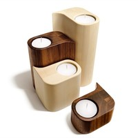 Wooden candle holder Boutique Collection by TEAM 7 Natürlich Wohnen