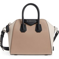 Givenchy Mini Antigona Tricolor Sugar Leather Satchel | Nordstrom