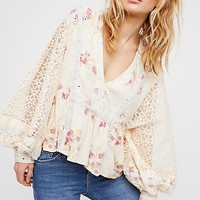 Boogie All Night Printed Blouse