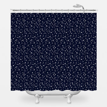 Star Night Shower Curtain