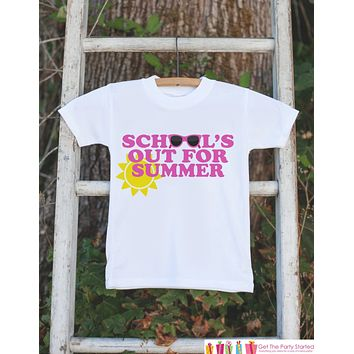 Kids School's Out For Summer Shirt - Last Day of School Shirt - Girl School's Out Tshirt - Kids Last Day of School Shirt for Boys - Clothing