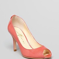 IVANKA TRUMP Peep Toe Pumps - Cleo High Heel | Bloomingdale's