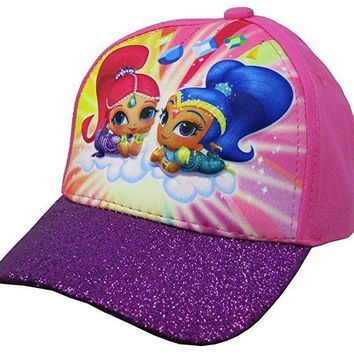 Nickelodeon Shimmer and Shine Girls 3D Pop Baseball Cap - Size 4-14
