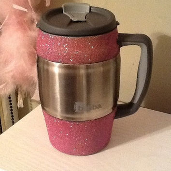 Glittered Insulated Mug / Bubba Keg