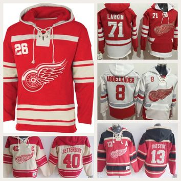 Detroit Red Wings NHL Hockey Team Apparel Hoodies