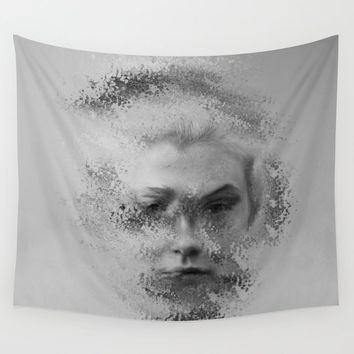 The Unknown selfie Wall Tapestry by victoriaherrera