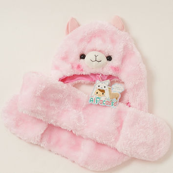 Alpacasso Hooded Scarf