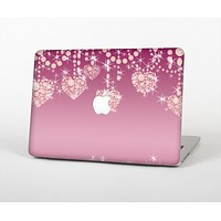 The Pink Spiral Polka Dots Skin for the Apple MacBook Pro 15""