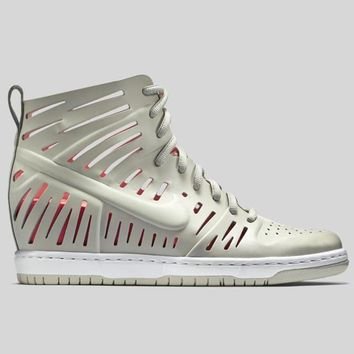 AUGUAU Nike Wmns Dunk Sky Hi 2.0 Joli QS Light Bone