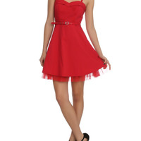 Royal Bones Red Lydia Dress