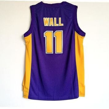 High School Jerseys Garner Magnet High School Holy Rams #11 John Wall