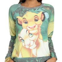 Lion King Sublimation Sweatshirt | Shop Junior Clothing at Wet Seal