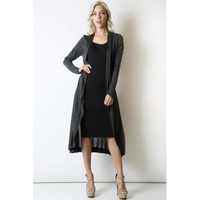Lightweight Duster - Charcoal - S
