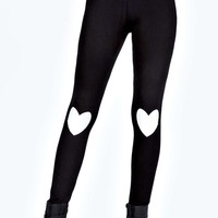 Louise Love Heart Print Leggings