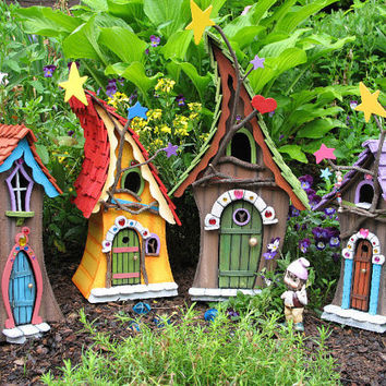 FAIRY HOUSE handmade and signed by former by SleepyHollowEnt