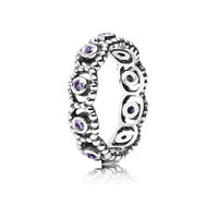 PANDORA Her Majesty Ring Purple, 190881ACZ - Pandora Mall of America, MN