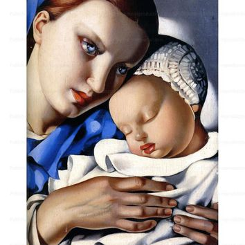 Mother and Child, art print