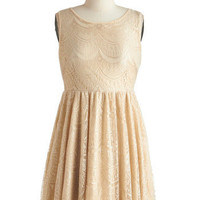 Beige of Honor Dress | Mod Retro Vintage Dresses | ModCloth.com
