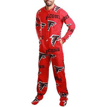 Atlanta Falcons - Logo All-Over Adult Union Suit