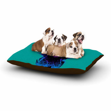 "BarmalisiRTB ""Forest Queen"" Teal People Dog Bed"