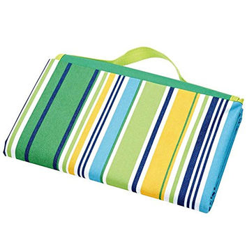 Outdoor Fold Up Beach Blanket / Travel Blanket