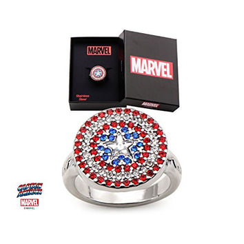 Captain America Womens Shield Ring (7)