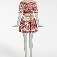 Women's Dresses - New Collection | Dolce&Gabbana - PRINTED COTTON DRESS