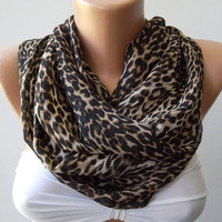 Elegant  Infinity Scarf, Loop Scarf Circle Scarf - Elegant - It made with good quality CHIFFON  fabric - Super Loop